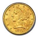 Liberty $5 Gold Coin(1839-1908)