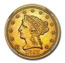 Liberty $2.50 Gold Coin(1840-1907)