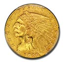Indian $2.50 Gold Coin(1908-1929)