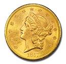 Liberty $20 Gold Coin(1849-1907)