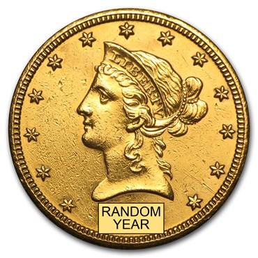 Liberty $10 Gold Coin (1838-1907)