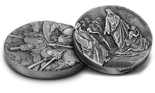 What is a Rimless Design Coin?