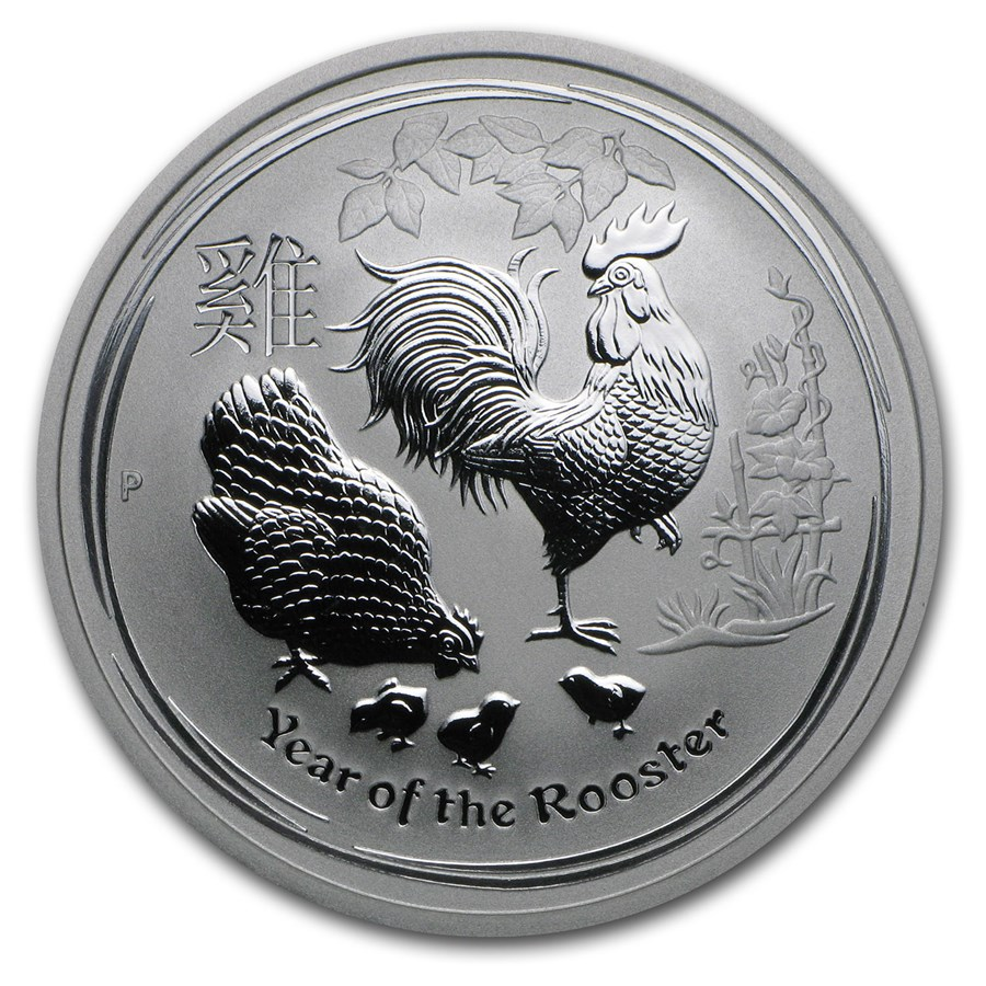 Silver Rooster