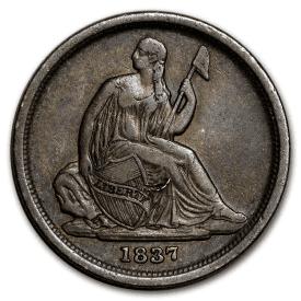 1837 Liberty Seated Dime