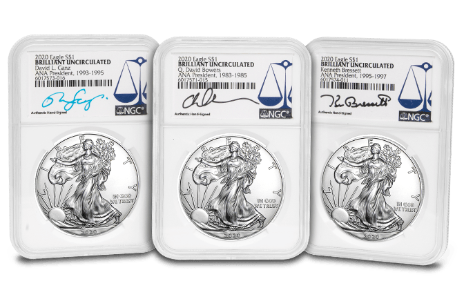 Win a Signed ANA Presidential 2020 Silver Eagle