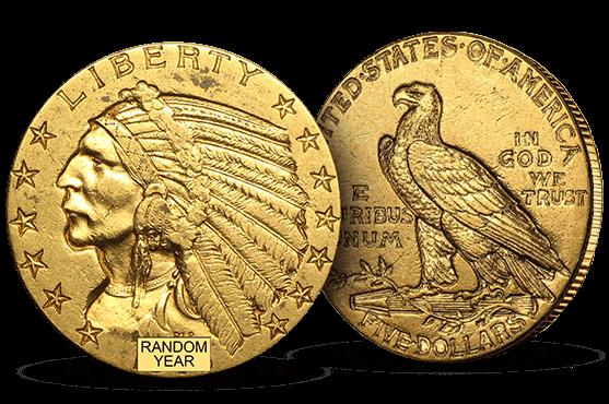 $5 Indian Gold Half Eagle