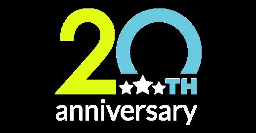 APMEX 20th Anniversary Logo