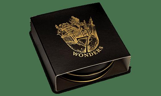 Exclusive 7 Wonders of The World Series Packaging