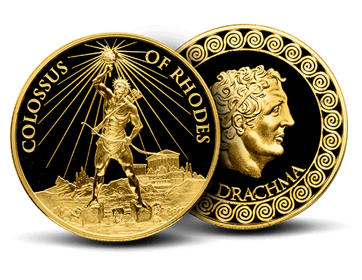 1 oz Gold - 7 Wonders of the Ancient World (Colossus of Rhodes)