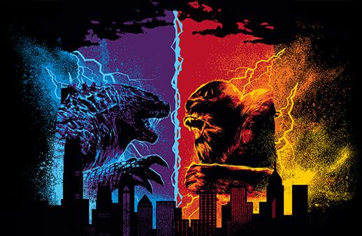 Godzilla vs. Kong Art