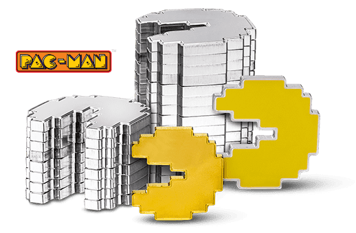 Celebrate PAC-MAN™ With Exclusively Shaped Coins