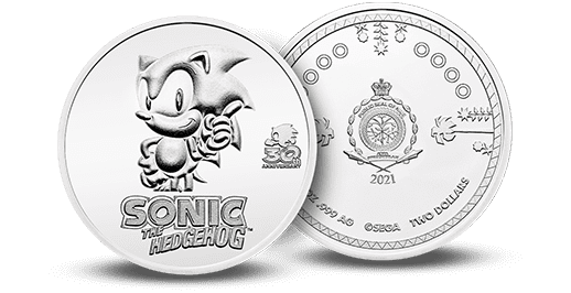 Sonic the Hedgehog in Silver and Silver BU - Sonic in Silver