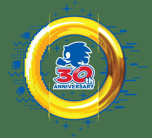 Sonic the Hedgehog: 30th Anniversary Logo - Celebrating 30 Years of Adventure