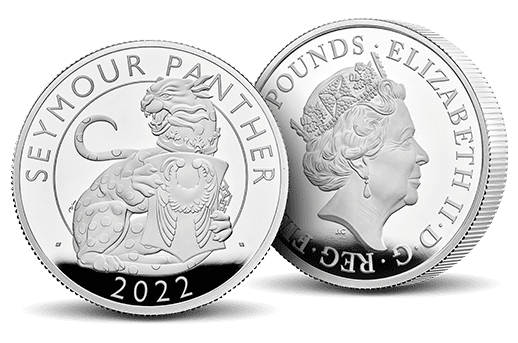 Exclusive 2 oz Silver Proof Panthers