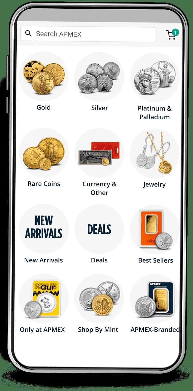 APMEX App Shop