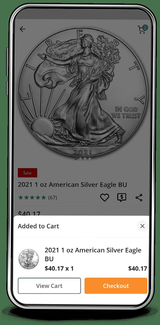 APMEX App Checkout