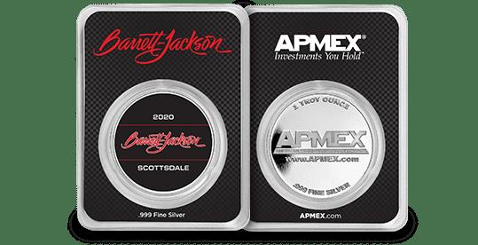 Barrett-Jackson Scottsdale 2020 Silver Round