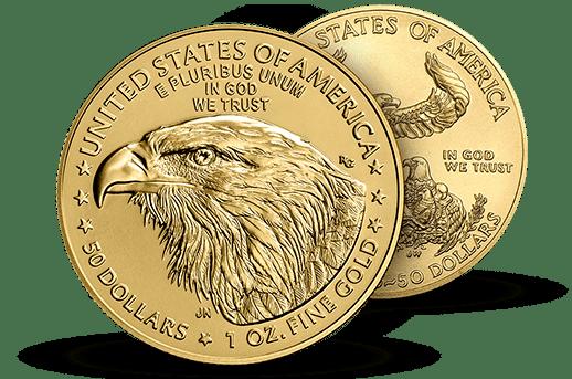 The New Gold Eagle Design