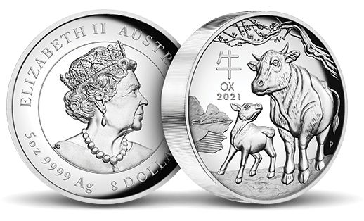 2020 Perth Mint Lunar Year of the Ox