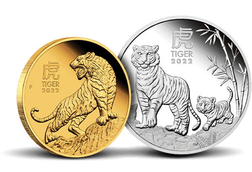 2021 Perth Mint Lunar Year of the Tiger