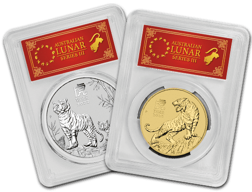 2021 Perth Mint Lunar Year of the Tiger (PCGS Certified)