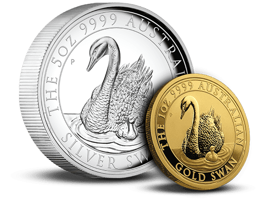 2019 High-Relief Silver Swan