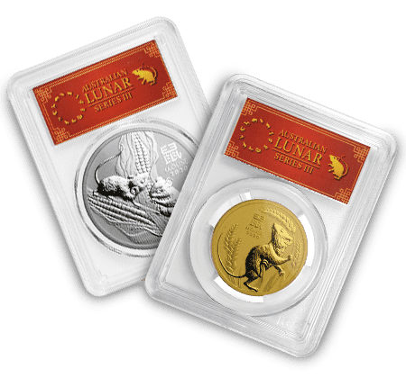 2020 Perth Mint Lunar Year of the Mouse (PCGS Certified)