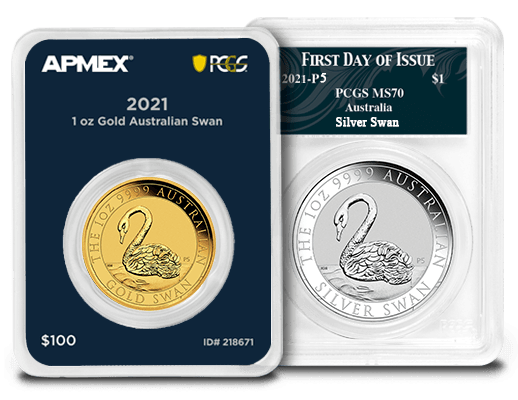 Exclusive PCGS Certified Options