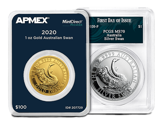 MintDirect and Certified Perth Swan Coins