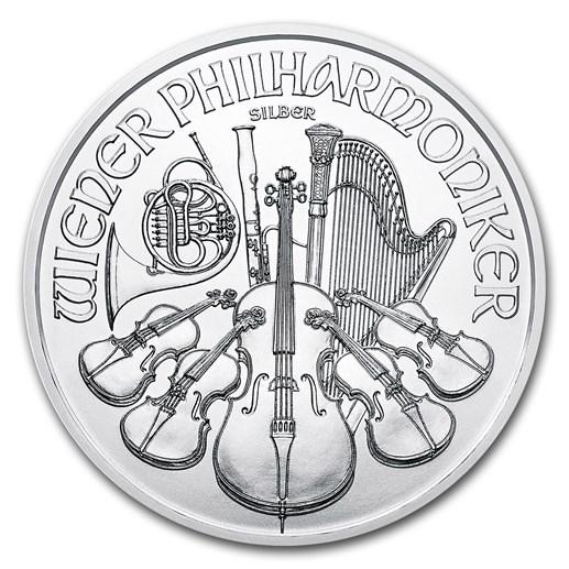 Silver Philharmonic Coin