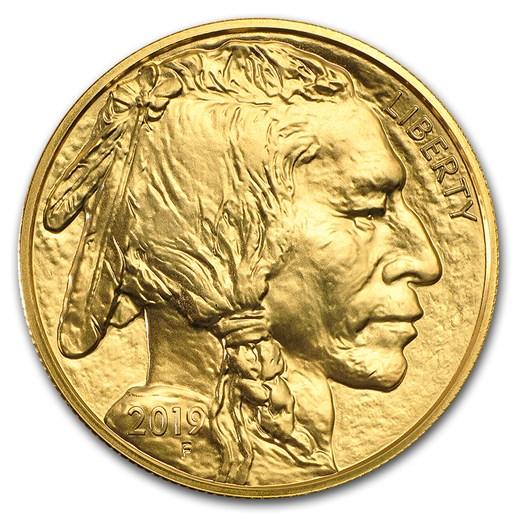 Gold American Buffalo