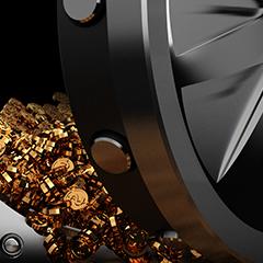 Physical Gold Value Vs Bitcoin Value
