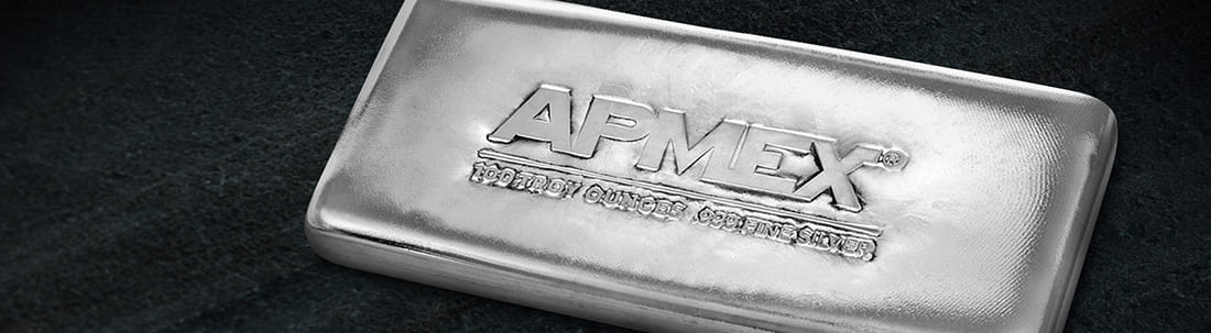 A single Silver bar