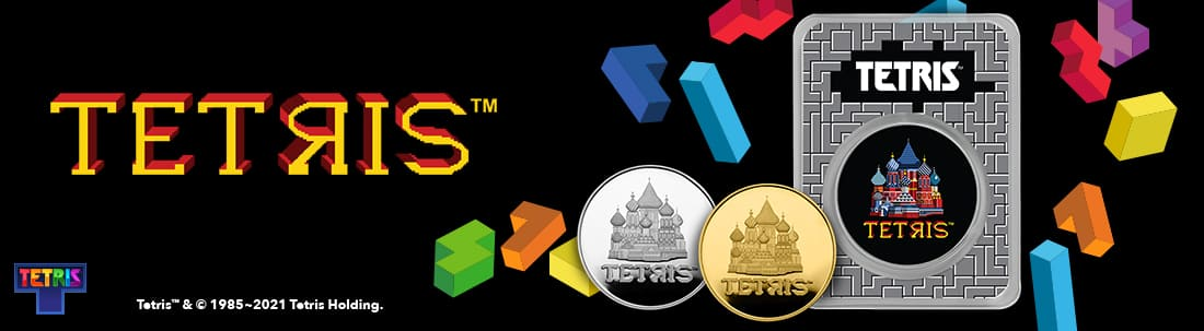 Stack Up Your Gold and Silver Collection: Tetris™ Coins and APMEX