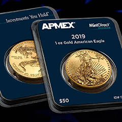 Upgrade Your 2019 Eagles to MintDirect® Premier On Us