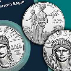 APMEX Introduces 2018 BU and Proof Platinum Eagles