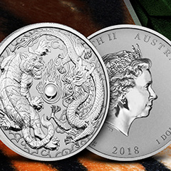 New Silver Coin from The Perth Mint Celebrates Two Revered Creatures