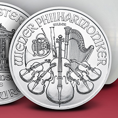 Purchase 2018 Silver Philharmonics and Receive One Free for a Short Time