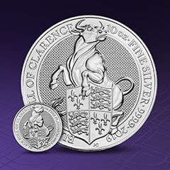 The Latest Queen's Beasts Release Brings you a Silver Sweepstakes