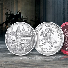 Austrian Mint Continues to Celebrate 825th Anniversary with Second Release