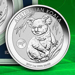 Silver Koalas Get a Special Addition for the Lunar Year of the Pig