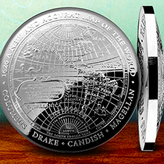 Finish Your Domed Map Collection with the Royal Australian Mint