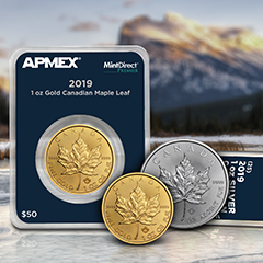 APMEX Welcomes the Fall Season with 2019 Maple Leaf Coins