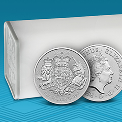 The Royal Arms Coin is Now Available in Silver