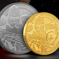 The Star Wars Bullion Series Releases the Clone Troopers