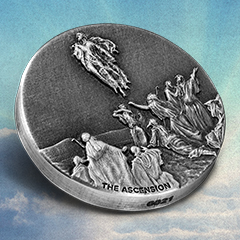 The Ascension of Christ Coin Concludes Biblical Series for 2018