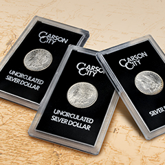 A Brief History of Carson City Silver Dollars