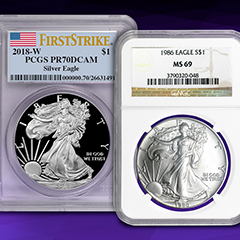 Why Should You Collect Graded Silver American Eagles?