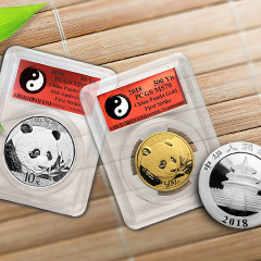 Shop the Full Line of APMEXclusive® 2018 Gold and Silver Pandas