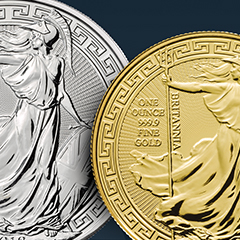 Gold and Silver Britannias Get a New Look